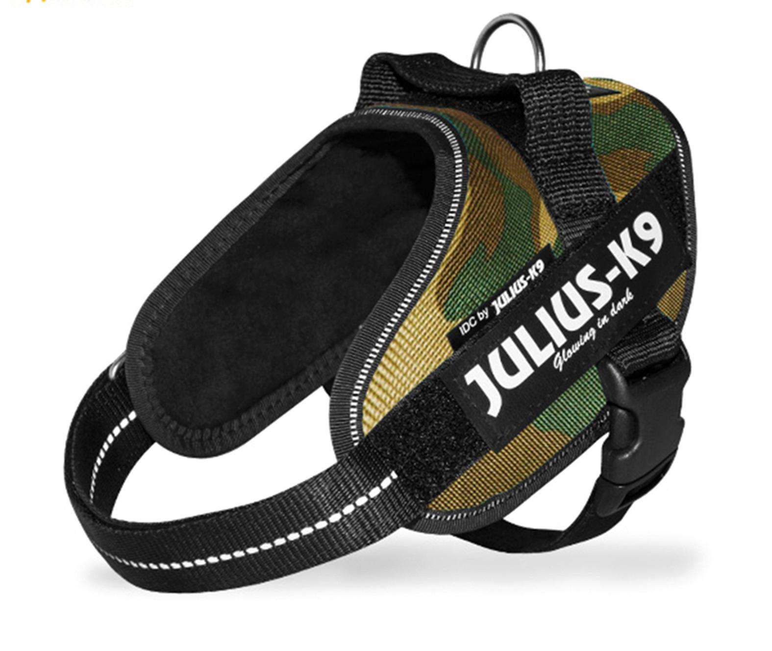 Julius K9 Power Pettorina, Nylon Misura Mini, Colore Camouflage