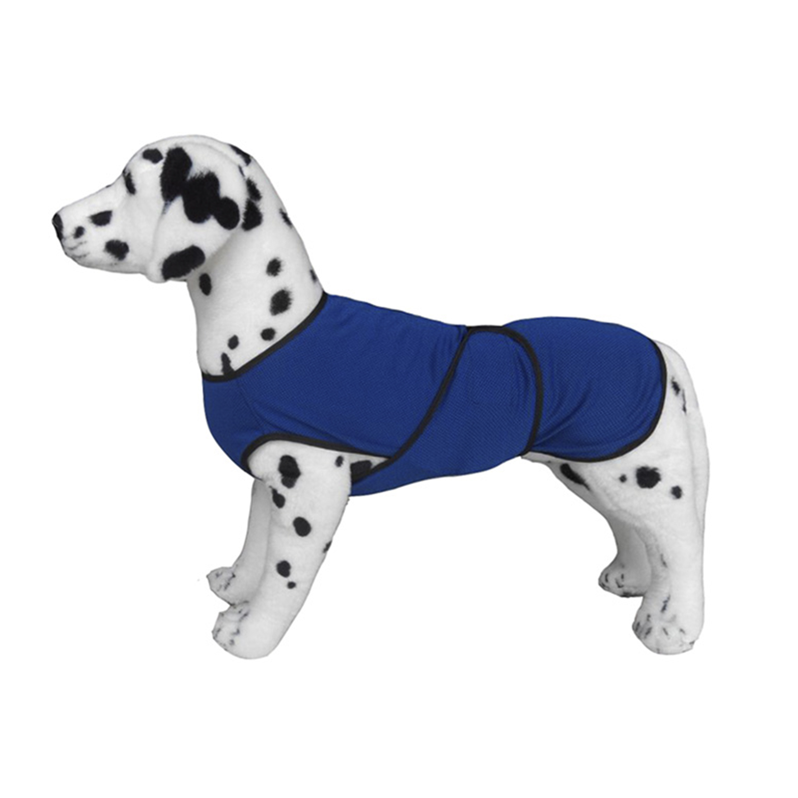 PawHut Pettorina Rinfrescante per Cani Taglia L in Microfibra Traspirante Blu